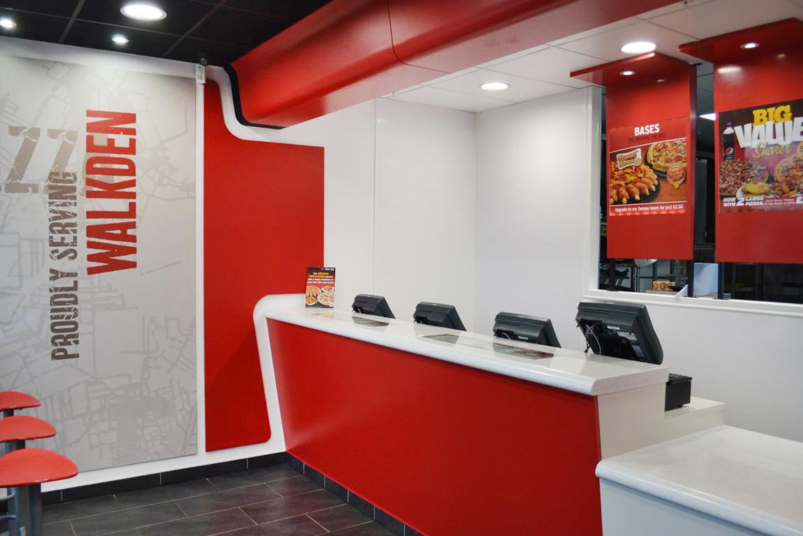 Pizza Hut Walkden 7formation